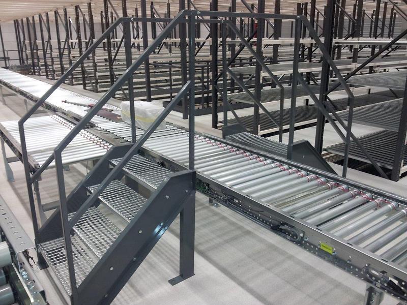 Escalier industriel locaux